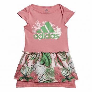 I FLOWER DRESS ROSA